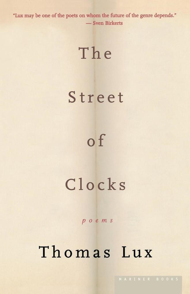 The Street of Clocks als Taschenbuch