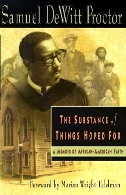 The Substance of Things Hoped for: A Memoir of African-American Faith als Taschenbuch