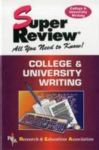 College and University Writing als Taschenbuch