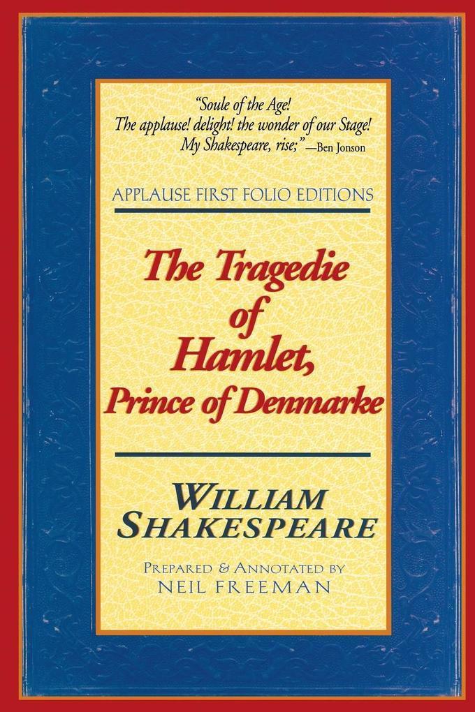 The Tragedie of Hamlet, Prince of Denmarke als Taschenbuch
