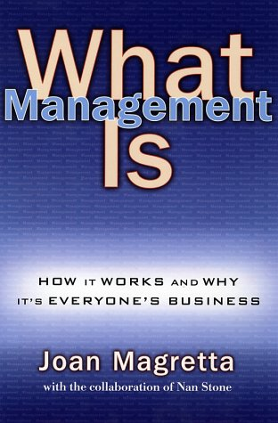 What Management Is als Buch