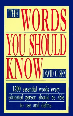 The Words You Should Know als Taschenbuch