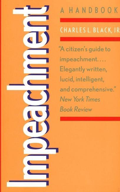 Impeachment: A Handbook als Taschenbuch