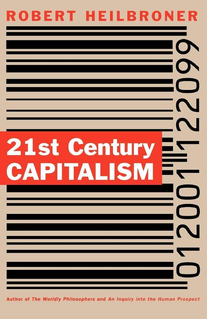 21st Century Capitalism als Taschenbuch
