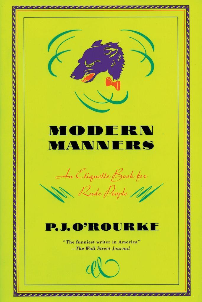 Modern Manners als Taschenbuch