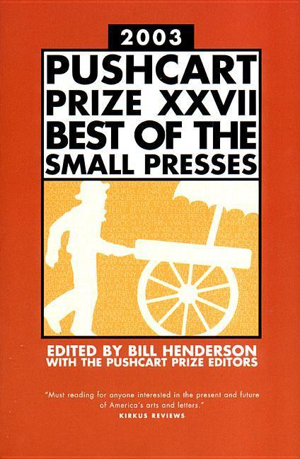 The Pushcart Prize als Buch