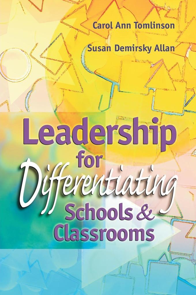 Leadership for Differentiating Schools and Classrooms als Taschenbuch