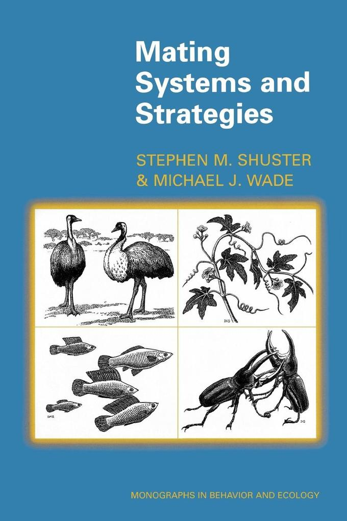 Mating Systems and Strategies als Taschenbuch