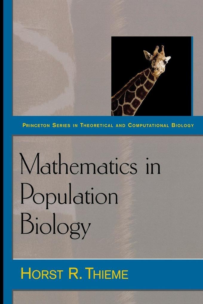 Mathematics in Population Biology als Taschenbuch