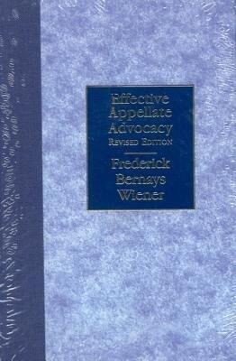 Effective Appellate Advocacy als Buch