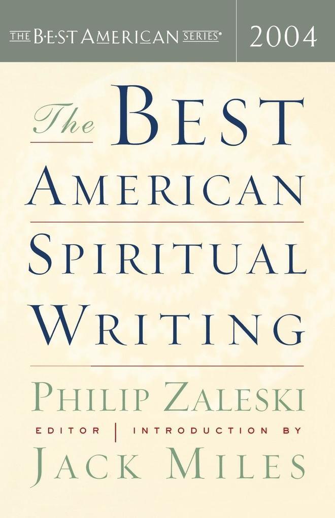 The Best American Spiritual Writing als Taschenbuch
