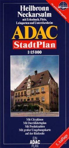 ADAC Stadtplan Heilbronn 1 : 15 000 als Buch