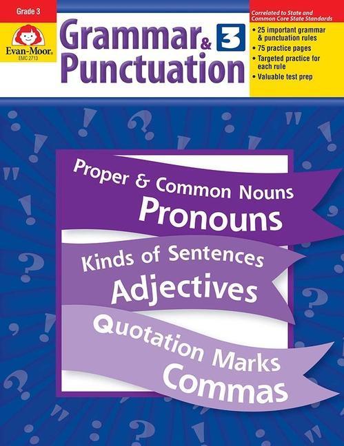 Grammar & Punctuation, Grade 3 als Taschenbuch