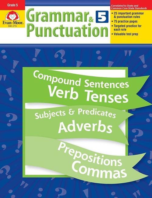 Grammar & Punctuation, Grade 5 als Taschenbuch