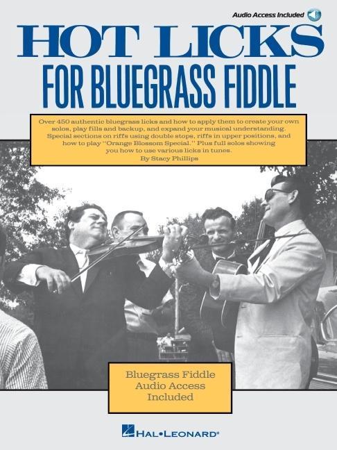 Hot Licks for Bluegrass Fiddle als Taschenbuch