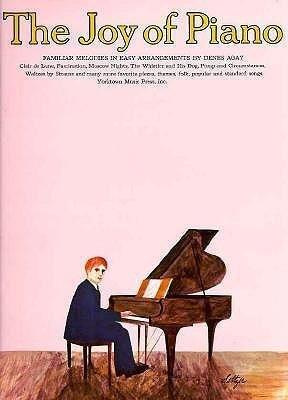The Joy of Piano: Easy Piano Solo als Taschenbuch