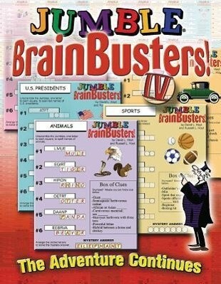 Jumble(r) Brainbusters! IV als Taschenbuch