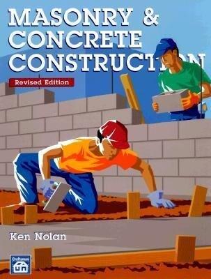 Masonry & Concrete Construction als Taschenbuch