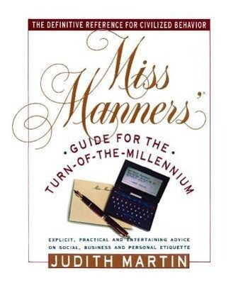 Miss Manners' Guide for the Turn-Of-The-Millennium als Taschenbuch
