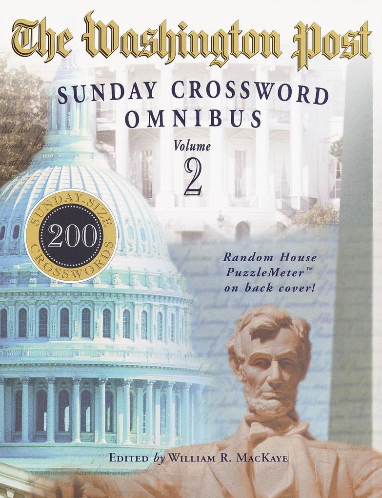 The Washington Post Sunday Crossword Omnibus, Volume 2 als Taschenbuch