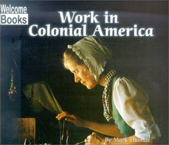 Work in Colonial America als Taschenbuch