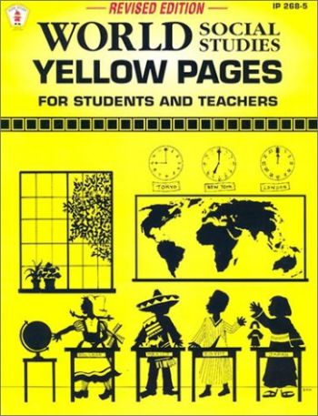 World Social Studies Yellow Pages: For Students and Teachers als Taschenbuch