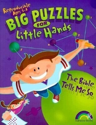 Big Puzzles for Little Hands: The Bible Tells Me So als Taschenbuch
