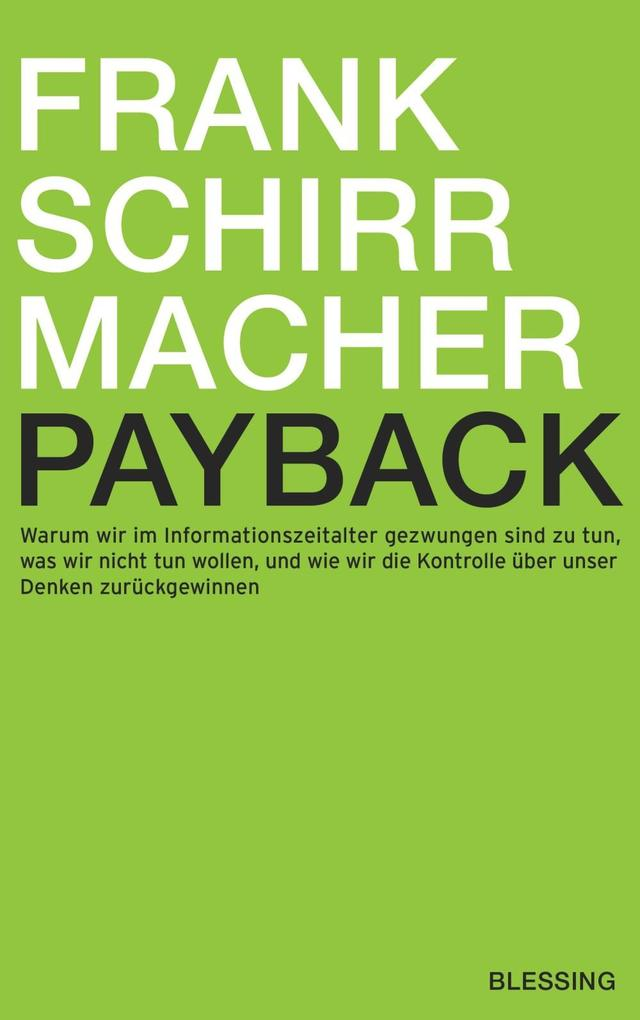 Payback als eBook