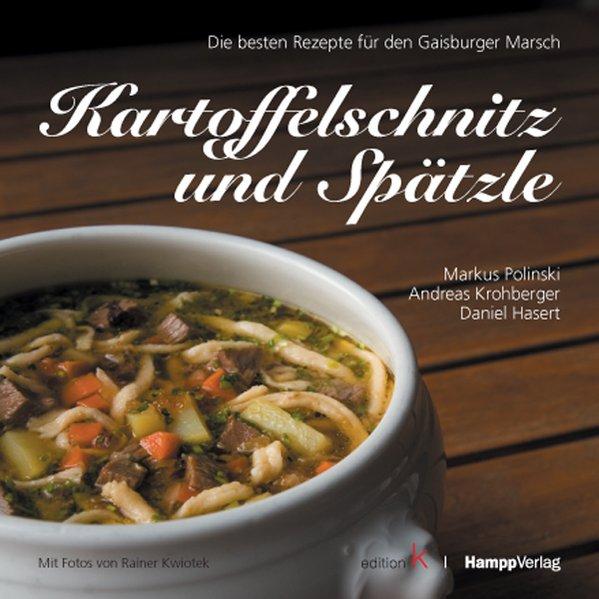 Kartoffelschnitz und Spätzle als Buch