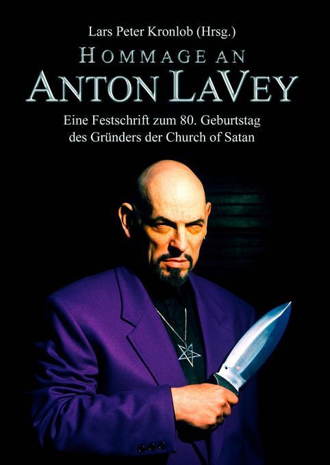 Hommage an Anton LaVey als Buch