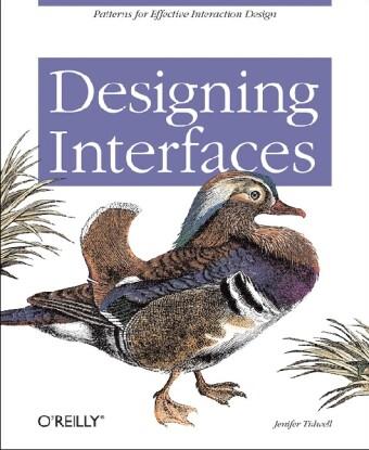 Designing Interfaces als Buch von Jenifer Tidwell
