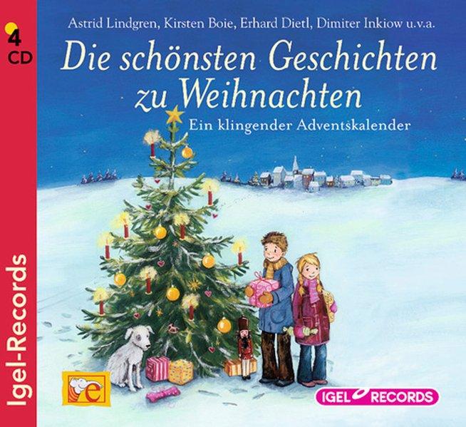 Die schönsten Geschichten zur Weihnachtszeit als Hörbuch