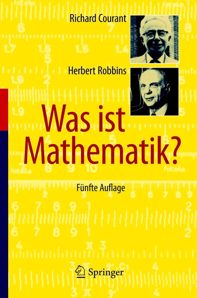 Was ist Mathematik? als Buch