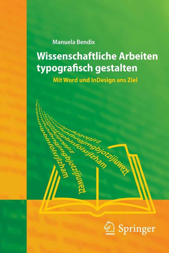 Wissenschaftliche Arbeiten typografisch gestalten als eBook