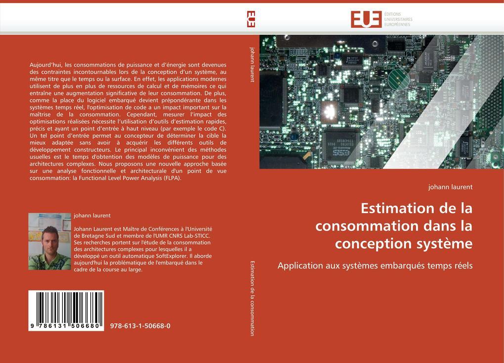 Estimation de la consommation dans la conception système als Buch