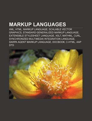 Markup languages als Taschenbuch von