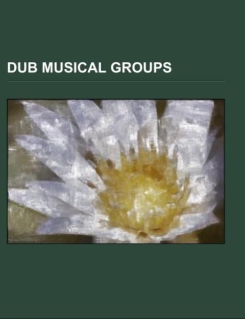 Dub musical groups als Taschenbuch von