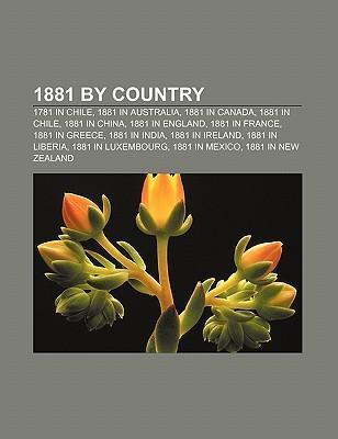 1881 by country als Taschenbuch von