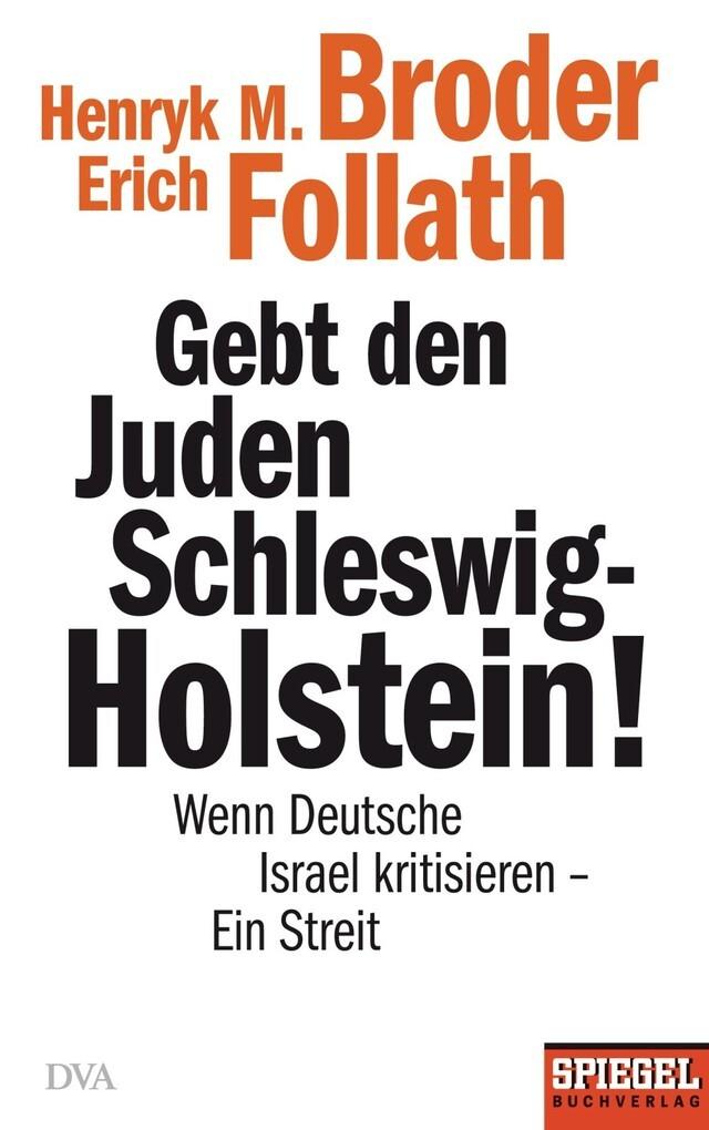 Gebt den Juden Schleswig-Holstein! als eBook
