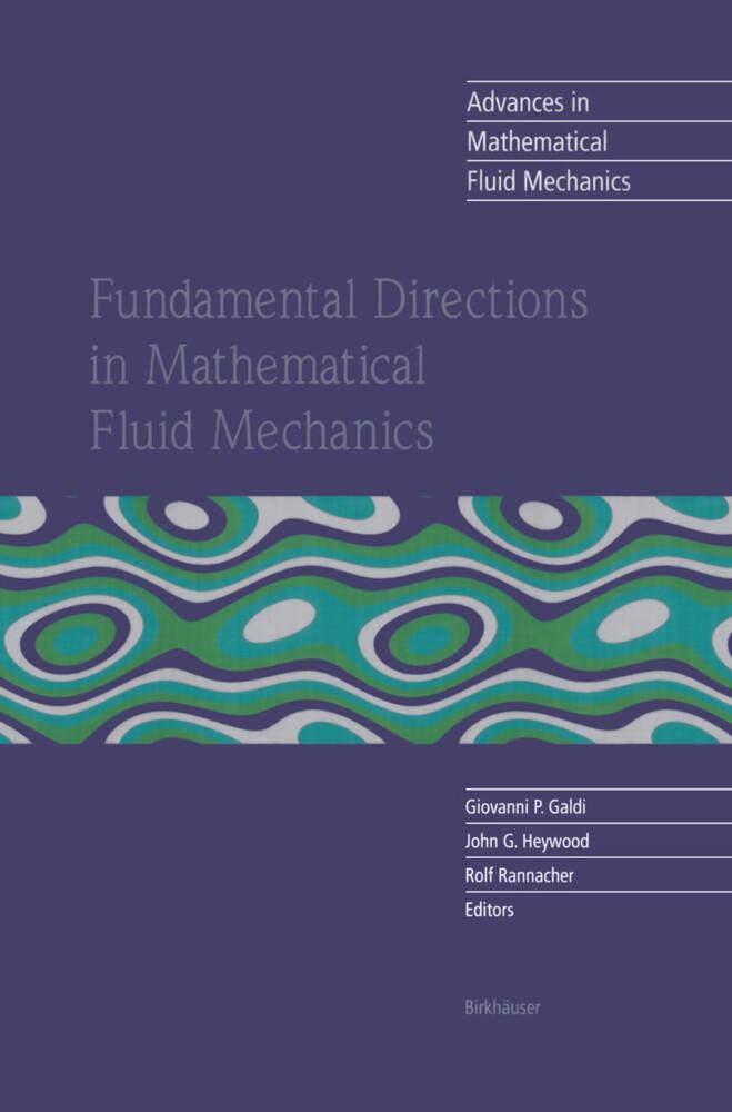 Fundamental Directions in Mathematical Fluid Mechanics als Buch