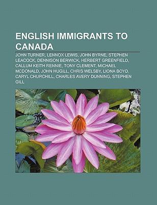 English immigrants to Canada als Taschenbuch von