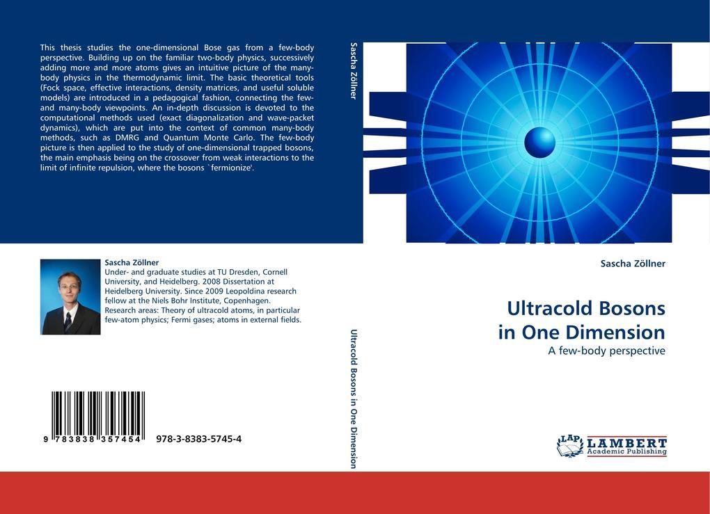 Ultracold Bosons in One Dimension als Buch von Sascha Zöllner - LAP Lambert Acad. Publ.
