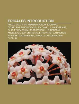 Ericales Introduction als Taschenbuch von - Books LLC, Reference Series