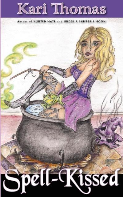 Spell-Kissed als Taschenbuch von Kari Thomas - Black Lyon Publishing