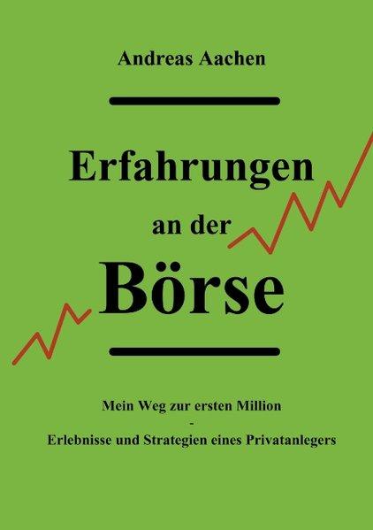 Erfahrungen an der Börse als Buch