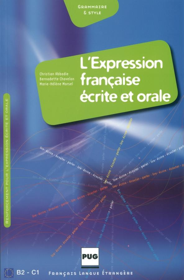 L' expression francaise ecrite et orale als Buch