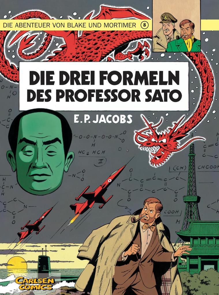 Die Abenteuer von Blake und Mortimer 08. Die drei Formeln des Professor Sato als Buch
