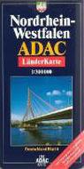 ADAC LänderKarte Nordrhein-Westfalen plano 1 : 300 000 als Buch