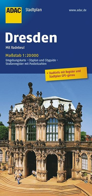 ADAC StadtPlan Dresden mit Radebeul 1 : 20 000 als Buch