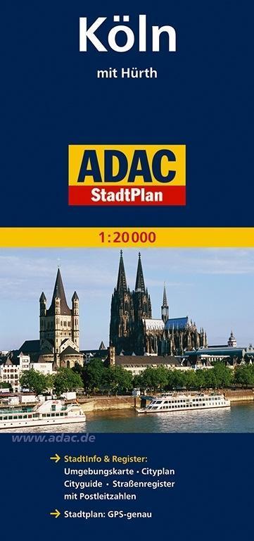 ADAC StadtPlan Köln mit Hürth 1 : 20 000 als Buch